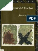 Jean Luc Nancy Singular Plural