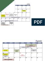 Calendario 2013-2