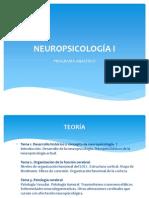 NEUROPSICOLOGÍA I