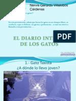 Nervis Gerardo Villalobos - Diario íntimo de los gatos