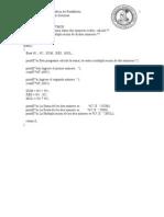 Ejemplos de Algoritmos I
