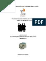 Protocolo Tesis Pregrado Upagu
