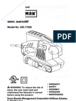 Craftsman Belt Sander Model 320.17559 Operator's Manual.pdf