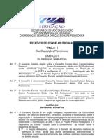 Estatuto Conselho Escolar 1ed