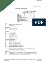 Designação SKF dos rolamentos de alta precisão