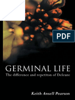 Germinal Life the Difference and Repetition of Deleuze