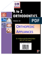 A to z Orthodontics Vol 12 Orthopedic Appliances