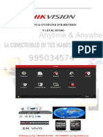 HIKVISION PERU 995034574-MANUAL ESPAÑOL DVR HIKVISION NUEVA VERSION