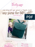 Thirty One August 2013 Special