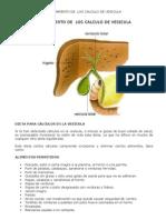 Calculos Biliares -Alimentos Aconsejados