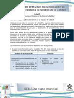 Registro y Documentacion de Un Sistema de Calidad