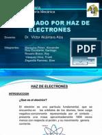 Haz de Elctrones Exposicion