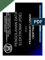 Kuliah 4 - Perangkat Lunak (Software)