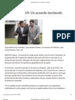 Colombia-OTAN_ Un acuerdo incómodo