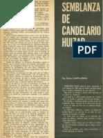 Calendario Huizar en Caballero Julio de 1966.