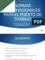 Normas Internacionales Para El Puestro de Trabajo