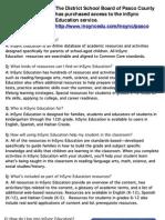 InSync Education FAQ