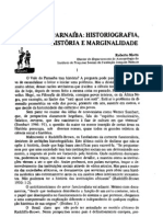 Vale Do Parnaiba Historiografia Historia e Marginalidade