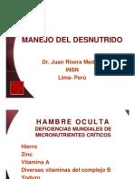 Manejo Del Desnutrido