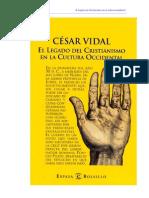 Vidal Cesar - El Legado Del Cristianismo en La Cultura Occidental