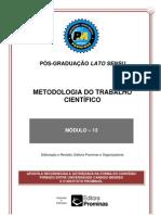 13-Metodologia trab cientifico