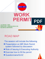 Work Permit System By A.K.Singh, Chief Manager (F&S), IOCL ,Mathura Refinery