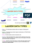 LabVIEW Data Types & Conversions Between These Types
