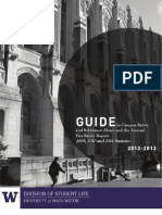 Campus Security Fire Guide for the University of Washington