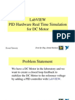PID Hardware Real Time Simulation