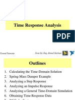 3- Time Response Analysis