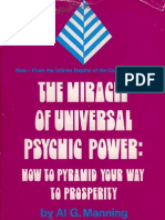 139351722 Al G Manning the Miracle of Universal Psychic Power