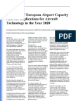 29 Eelman Scenarios of European Airport Capacity