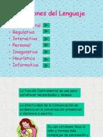 Funciones Del Lengauje