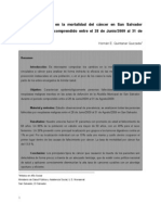 Journal Mortalidad en cáncer en S.S. jun-ag 2009
