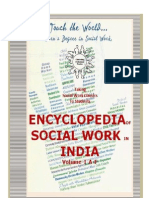 Encyclopedia of Social Work in India Volume 1