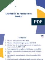 Poblacion Mexico