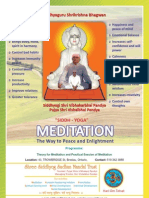 Meditation session in Canada