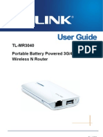 TL-MR3040 V2 User Guide