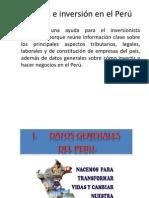 Para Conocer e Invertir en El Peru