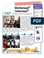 August 2013  Motheread Newsletter