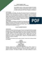 DTO N. 57 2000 Ley de Propiedad Industrial