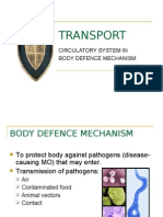 Body Defence Mechanism