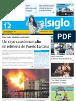 Edicion Eje Centro Lunes 12-08-2013