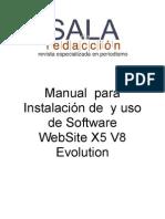 Manual  WEBSITE X5V8.doc