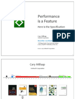 Cary Millsap Performance is a Feature Webinar