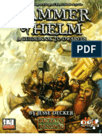 Dungeons & Dragons 3rd Edition - Races - Hammer and Helm