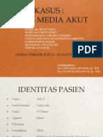 Otitis Media Akut (OMA)