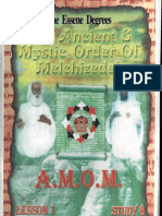 The Essene Degrees AMOM Lesson-1 Study-8