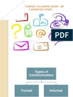Classsification of Communication
