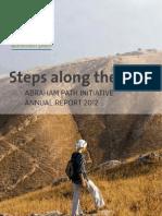 Annual Report 2012 - Abraham Path Initiative